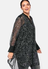 Sheego - Button-down blouse - nicht definiert - 3