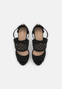 Anna Field - COMFORT - High heeled sandals - black - 5