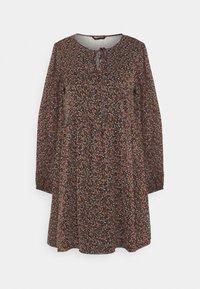ONYVONNA SHORT DRESS - Denní šaty - black