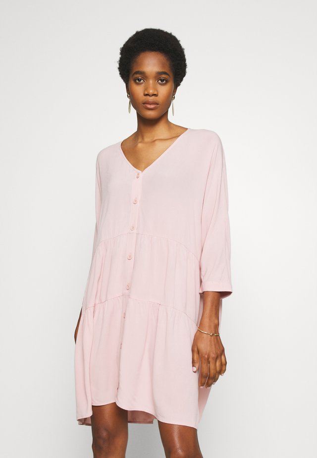 MARISA DRESS - Shirt dress - rose smoke