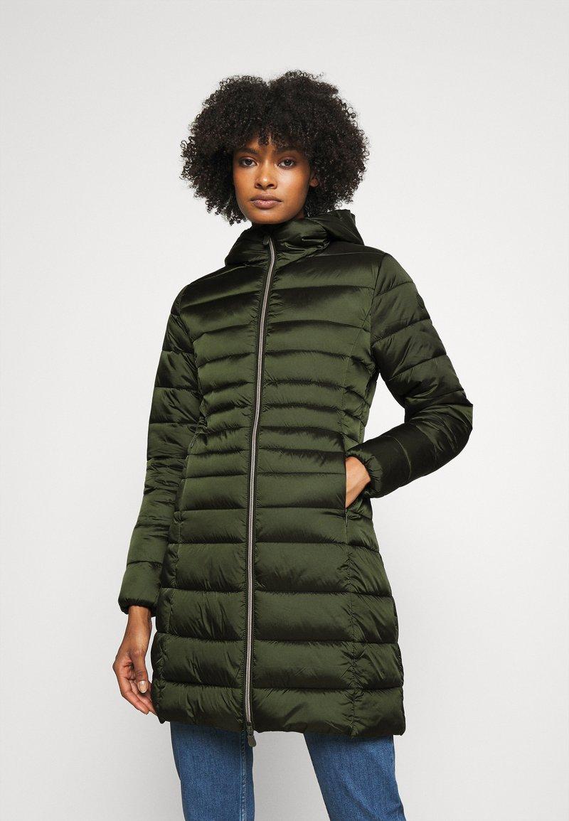 Save the duck - IRIS CAMILLE - Short coat - pine green