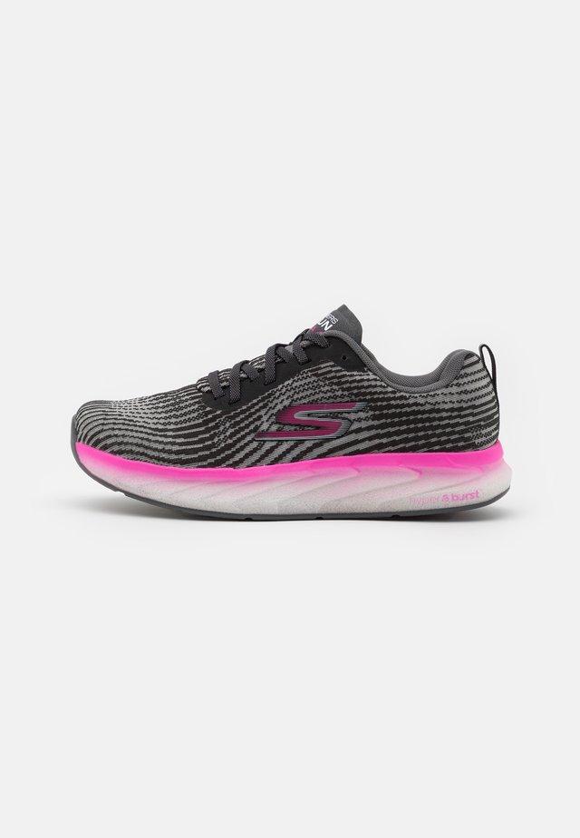 FORZA 4 - Stabiliteit hardloopschoenen - black mono/hot melt/hot pink