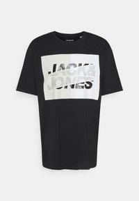 Jack & Jones - JCONOVO  CREW NECK  - Print T-shirt - black - 0