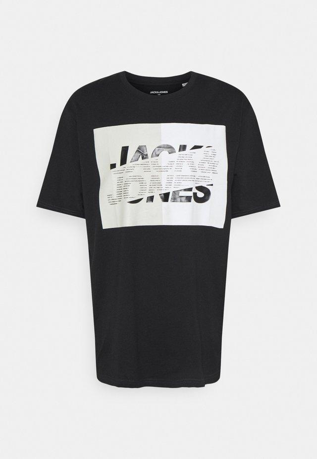 JCONOVO  CREW NECK  - T-shirt con stampa - black