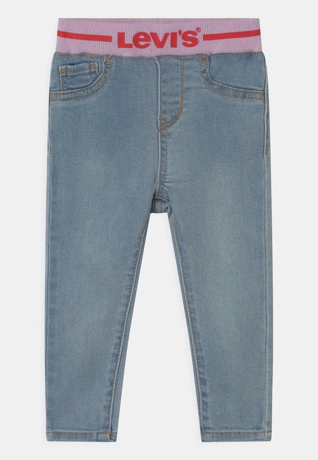 PULL ON SKINNY - Skinny džíny - light-blue denim
