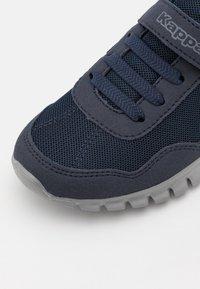 Kappa - FOLLOW UNISEX - Sports shoes - navy/grey - 5