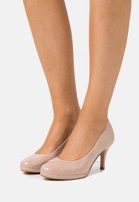 Tamaris - COURT SHOE - Classic heels - old rose - 0