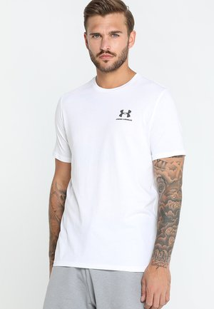 SPORTSTYLE LEFT CHEST - T-shirts basic - white/black