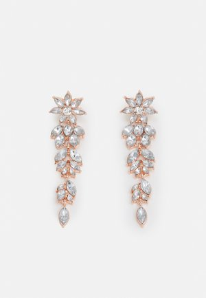 PCLAY EARRINGS - Kolczyki - rose gold-coloured/clear