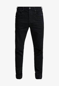 CITISHIELD 3D SLIM TAPERED - Slim fit jeans - black denim