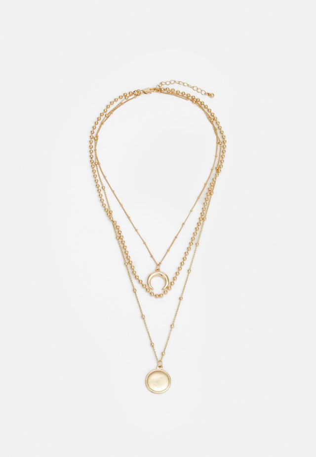 PCFLAMINGI COMBI NECKLACE - Collar - gold-coloured