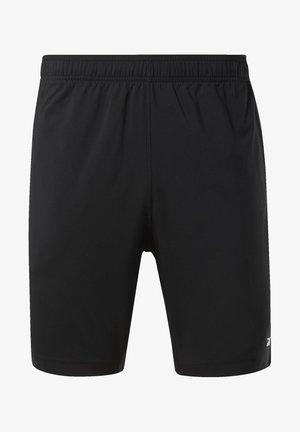 WORKOUT READY SHORTS - Pantalón corto de deporte - black