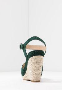 Anna Field - LEATHER - Højhælede sandaletter / Højhælede sandaler - green - 5