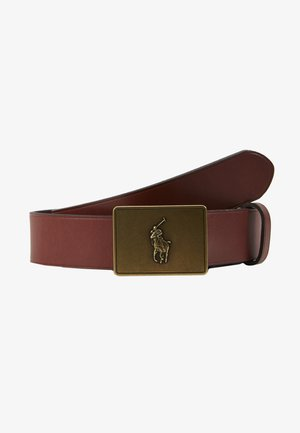PONY BUCKLE-CASUAL - Cintura - brown