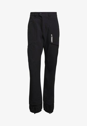 TERREX YEAROUND SOFTSHELL - Kalhoty - black