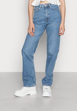 ROWE - Jeans a sigaretta - rain blue