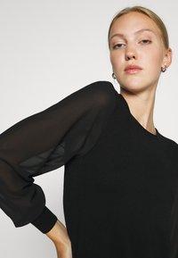 ONLY - ONLOFELIA DRESS - Neulemekko - black - 3