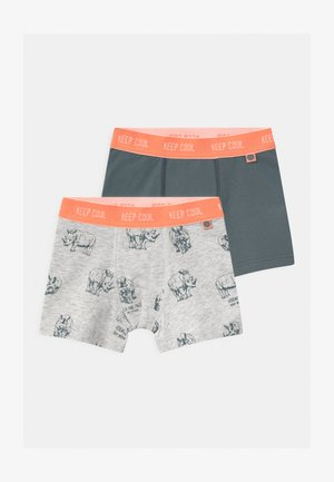 MINI 2 PACK - Pants - light platin meliert