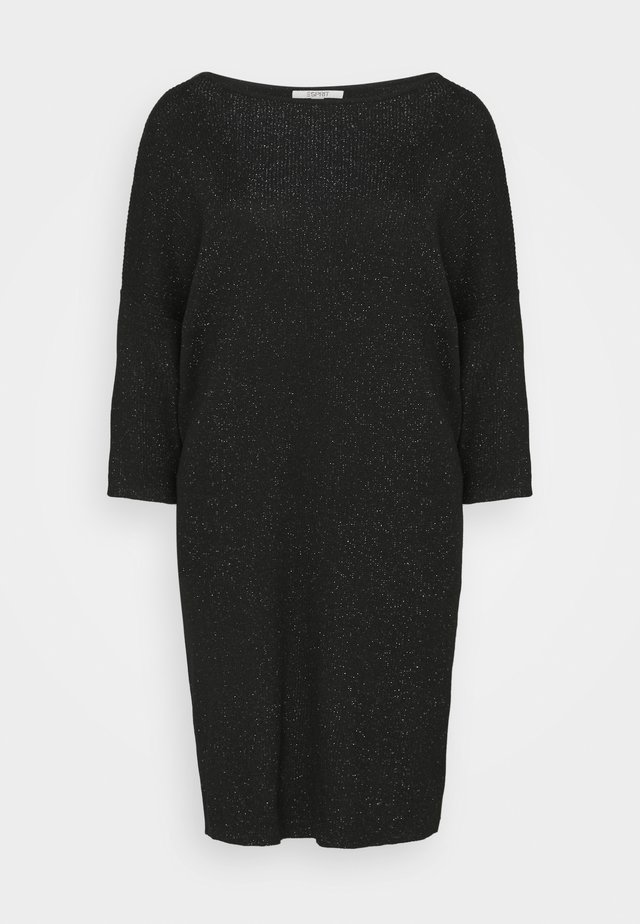 DRESS - Sukienka dzianinowa - black