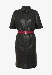 KARL LAGERFELD - SHIRT DRESS - Vestito elegante - black - 4