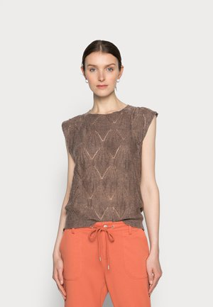 MARY SLIPOVER - Jumper - faded brown