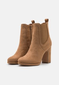 Anna Field - High heeled ankle boots - camel - 2
