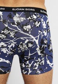 Björn Borg - FLEURS JARDIN SHADELINE 5PACK - Underkläder - deep cobalt - 7