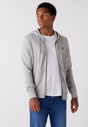 SIGN OFF ZIPTHRU - Zip-up hoodie - mid grey mel