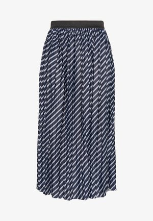 JDYDOMINIQUE SKIRT - Pleated skirt - faded denim