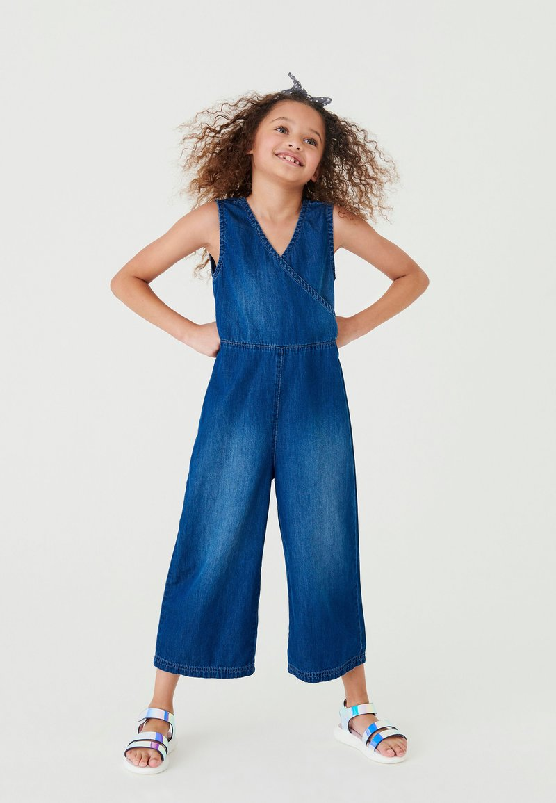 Next - WRAP  - Jumpsuit - blue denim