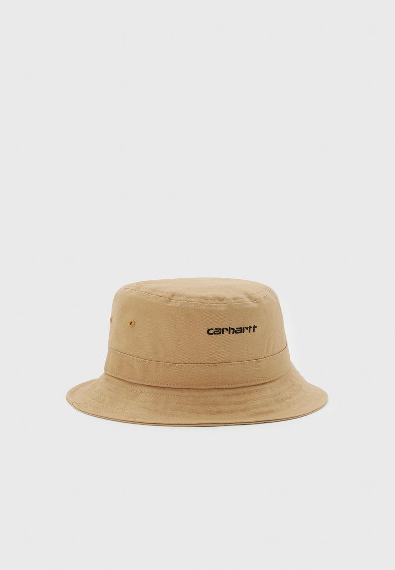 Carhartt WIP - SCRIPT BUCKET HAT UNISEX - Platmale - dusty brown/black
