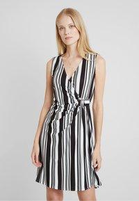 Anna Field - Shift dress - white/black - 0