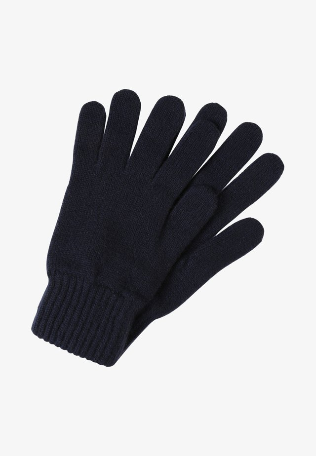 CASHMERE GLOVES - Gants - navy