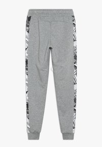 Puma - ALPHA PANTS - Tracksuit bottoms - medium gray heather - 1