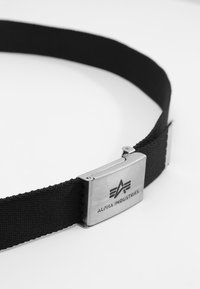 Alpha Industries - BIG A BELT - Belt - black - 3