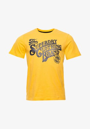 HERITAGE  - Print T-shirt - utah gold