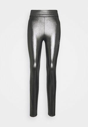 ADIDAS BY STELLA MCCARTNEY TRAINING WORKOUT AEROREADY PRIMEGREEN LEGGINGS FITTED - Leggings - silver/black