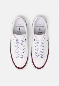 Polo Ralph Lauren - LONGWOOD UNISEX - Sneakers - white/newport navy - 3