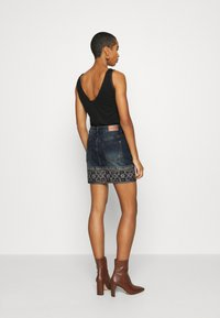 Desigual - FAL DENVER - Jeansskjørt - denim medium
