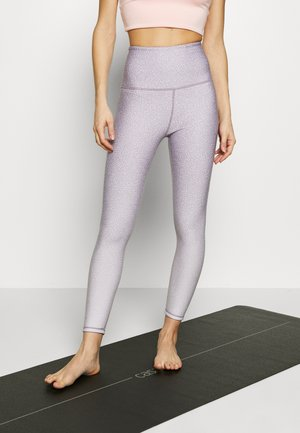 REVERSIBLE 7/8 - Tights - watercress ombre