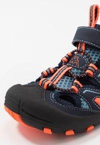 Kappa - REMINDER - Hiking shoes - navy/orange - 2