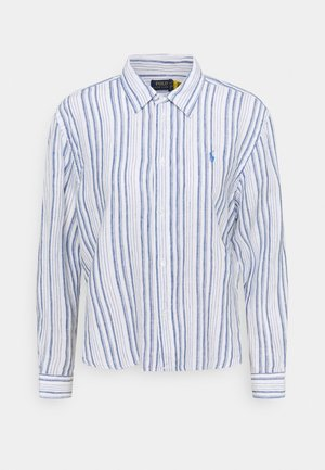 STRIPE - Paitapusero - white/astor blue