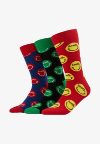 Happy Socks - CURTIS KULIG 3 PACK BOX WITH PILLOW - Calcetines - multi-coloured - 1