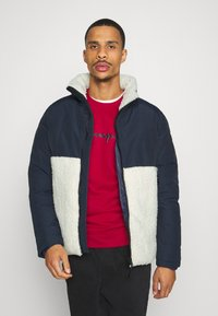 Champion - ROCHESTER HOODED JACKET - Winter jacket - blue - 0