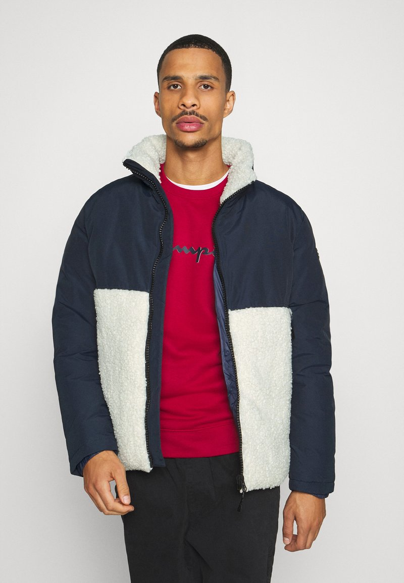 Champion - ROCHESTER HOODED JACKET - Winter jacket - blue