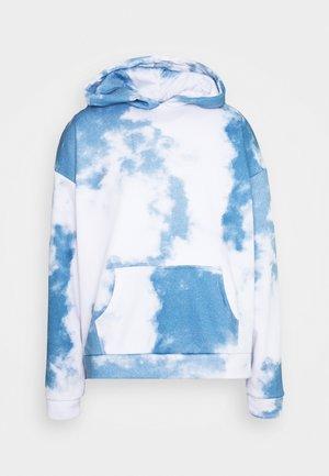 CLOUD HOODIE - Felpa - blue/white