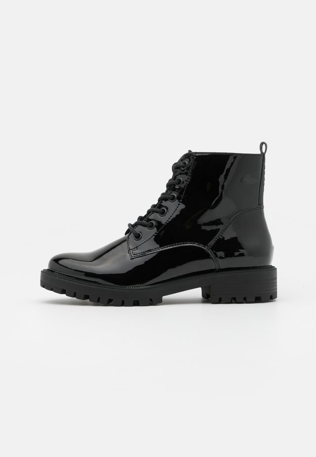 BRISTOL BOOT - Bottines à lacets - black