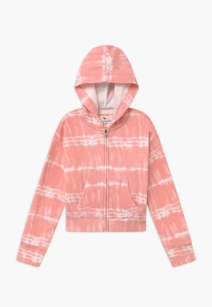 CORE FULLZIP WASH - Mikina na zip - pink