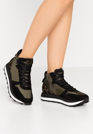 HERO - High-top trainers - jun/schwarz/khaki