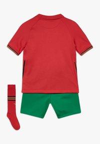 Nike Performance - PORTUGAL HM SET - Club wear - gym red/metallic gold - 1